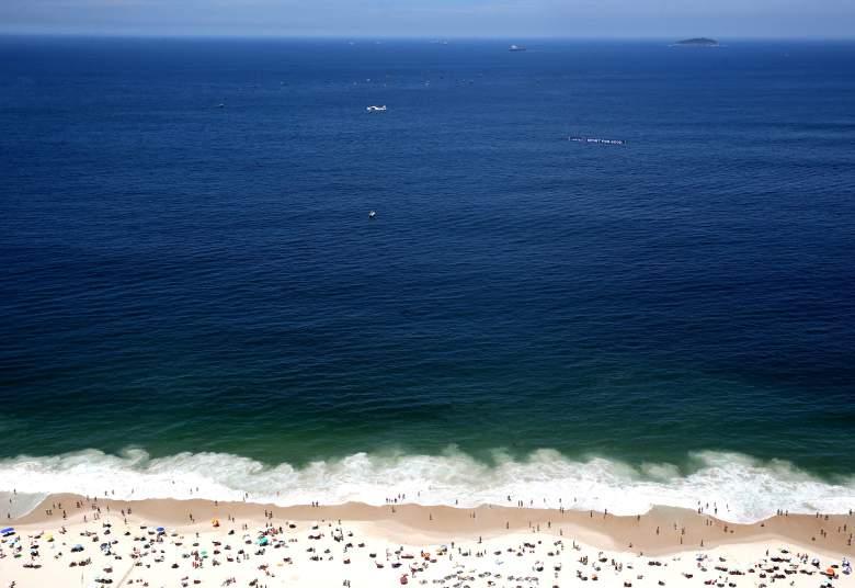 Copacabana beach in Rio de Janeiro. (Getty)
