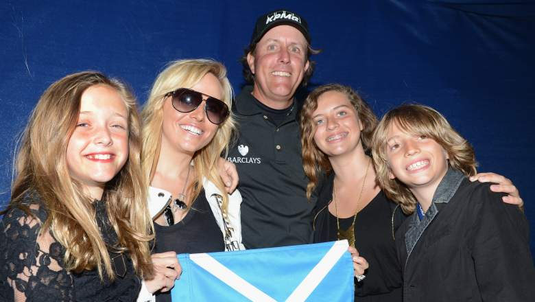 Phil Mickelson family