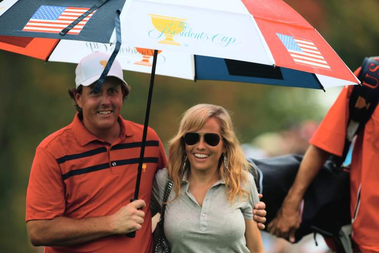 Phil Mickelson, Amy Mickelson, Mickelson family