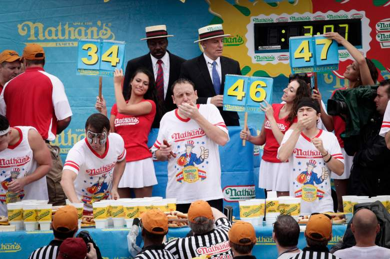 Joey Chestnut, Nathan's Hot Dog Eating Contest
