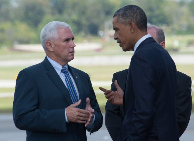 Obama Indiana, Mike Pence, Indiana governor