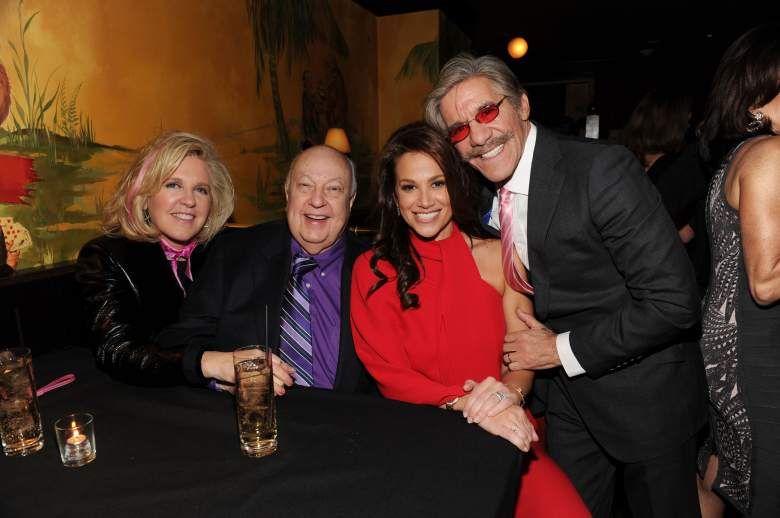 Elizabeth Ailes, Roger Ailes wife, Geraldo Rivera party