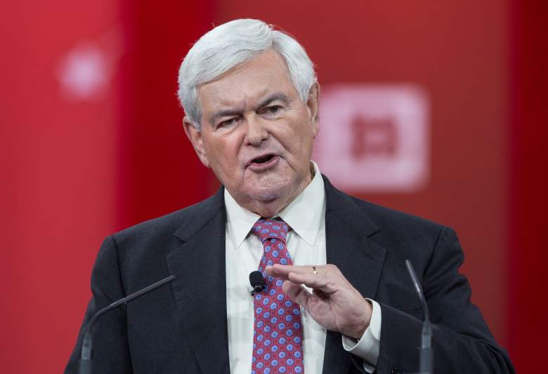 Former US House Speaker Newt Gingrinch. (Getty)