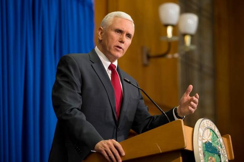 Mike Pence governor, Governor Mike Pence, Mike Pence Indiana