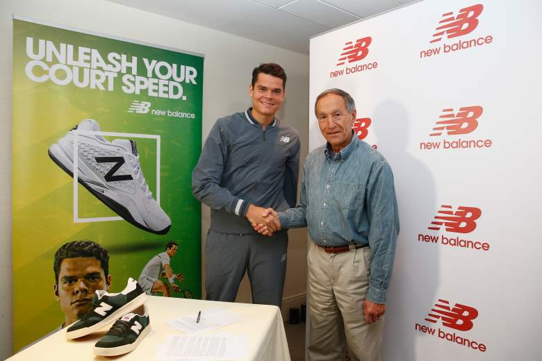 New Balance, Milos Raonic, Milos Raonic sponsor
