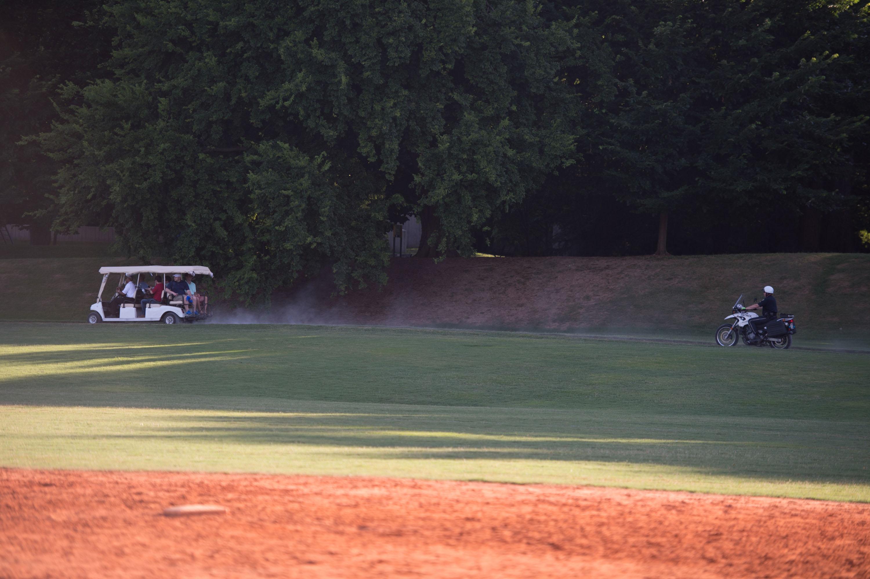Piedmont Park, hanging, Atlanta