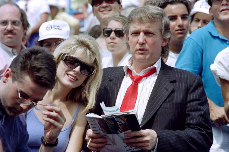 Donald Trump and Marla Maples, ex wives, who is, wife, family