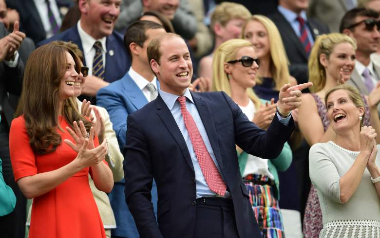 Prince William, Wimbledon, Duchess Kate