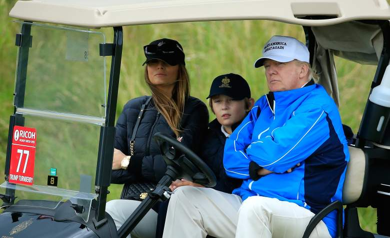 donald trump, barron trump, son, youngest, who is