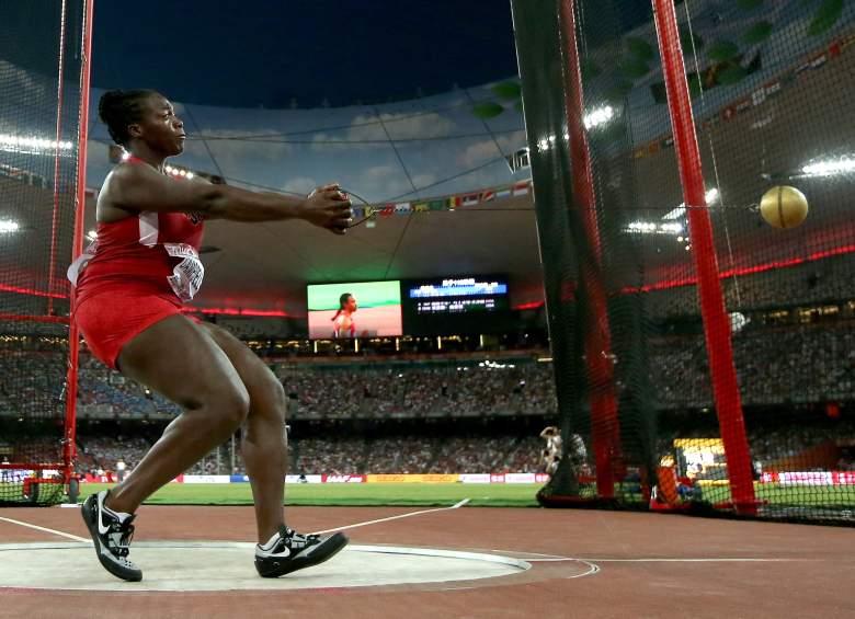 Amber Campbell 2015 IAAF World Championships
