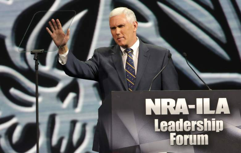 Mike Pence, Mike Pence NRA, Indiana Governor