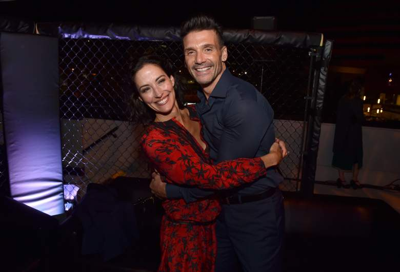Frank Grillo and Wendy Moniz, Kingdom premiere, SilverScreen Theater, Pacific Design Center, Hollywood