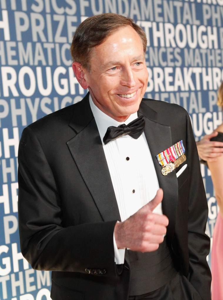 David Petraeus in 2015. (Getty)