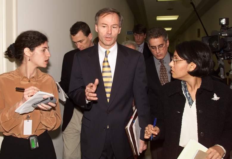 Asa Hutchinson and Bill Clinton, Asa Hutchinson biography, arkansas governor