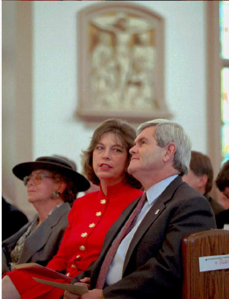 Marianne Gingrich, Newt Gingrich second wife, Newt Gingrich open marriage
