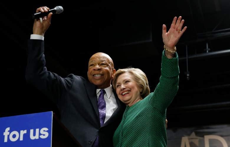 Elijah Cummings, Maryland Congressman, Hillary Clinton supporter