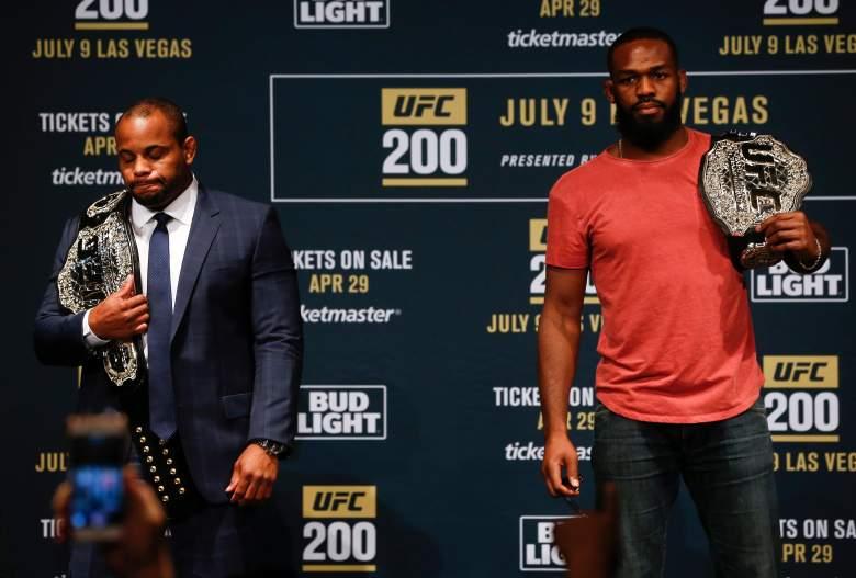 Jon Jones Daniel Cormier UFC 200