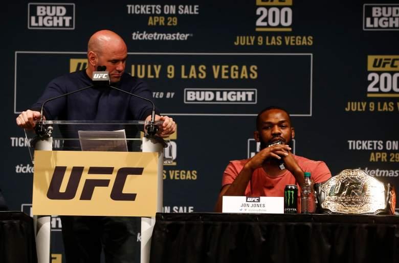Jon Jones Dana White UFC 200