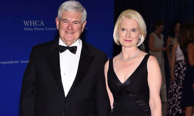 Newt Gingrich White House Correspondents Dinner, Callista Gingrich White House Correspondents Dinner, Newt Gingrich wife white house correspondents dinner