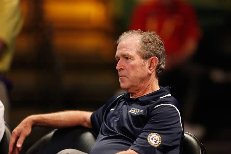George W. Bush 2016, George W. Bush after presidency, George W. Bush no hair