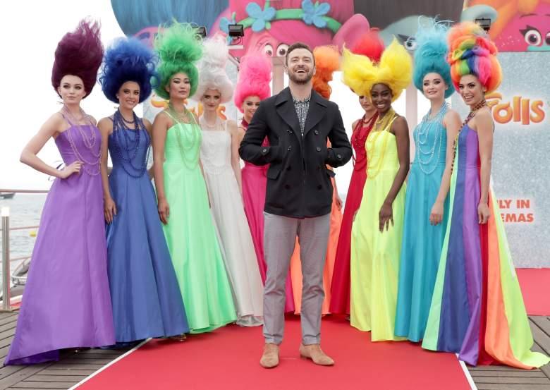Trolls, Justin Timberlake, Trolls cast
