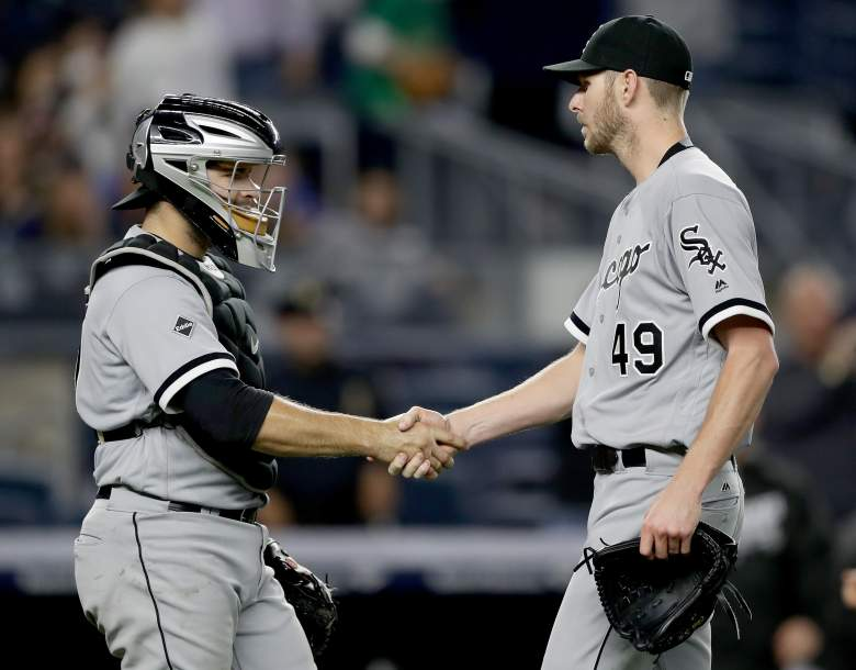 Chris Sale Yankees, Chris Sale White Sox, Chris Sale complete game