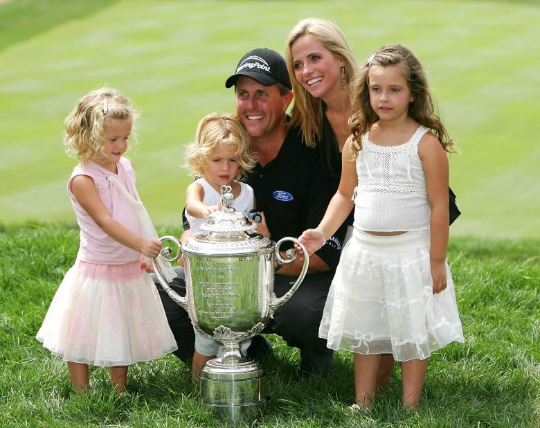 Phil Mickelson, Phil Mickelson family. Amy Mickelson