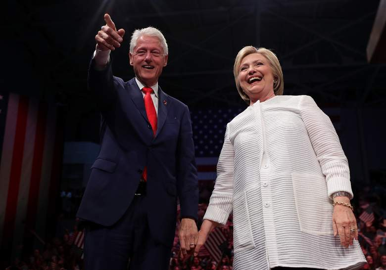 Bill and Hillary Clinton, DNC, Democratic National Convention, tv stations, channel, time, when