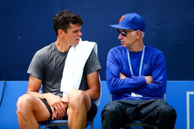 John McEnroe, Wimbledon, Milos Raonic