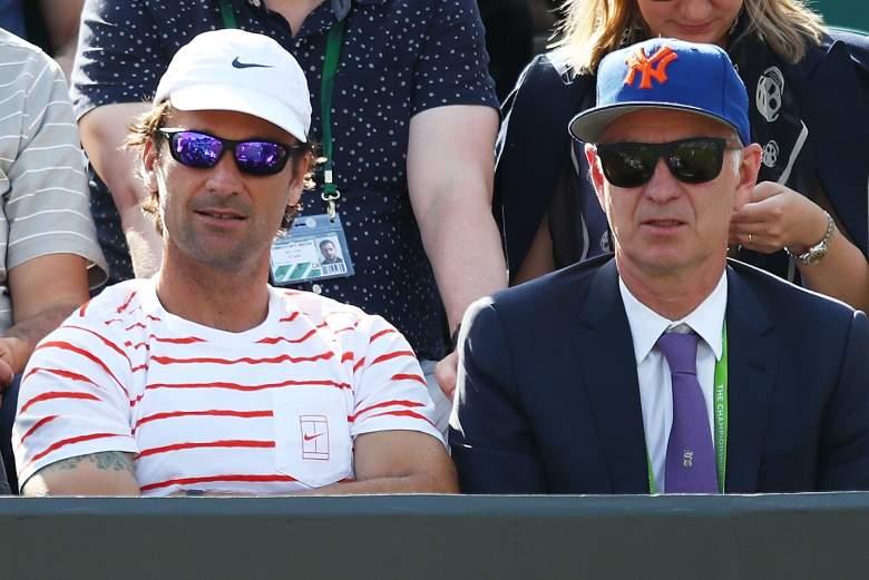 John McEnroe, Wimbledon, Carlos Moya