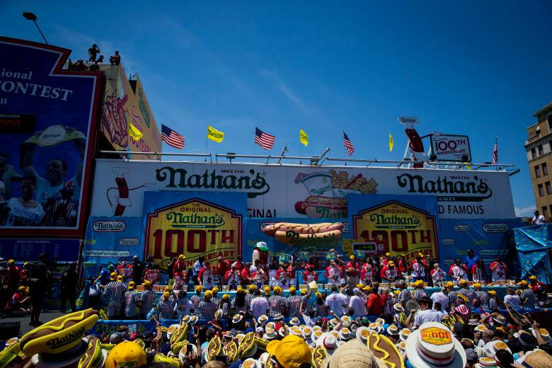 Nathan's Hot Dog Eating contest, Coney Island
