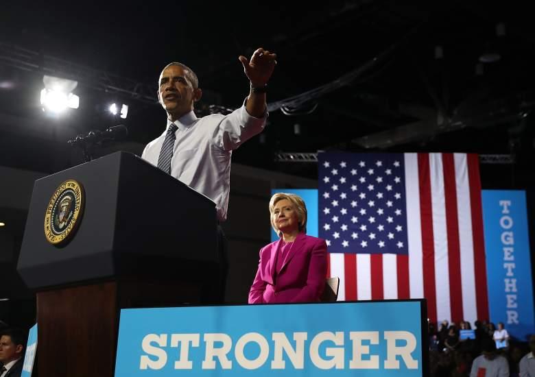 President Barack Obama, Hillary Clinton, Obama and Clinton