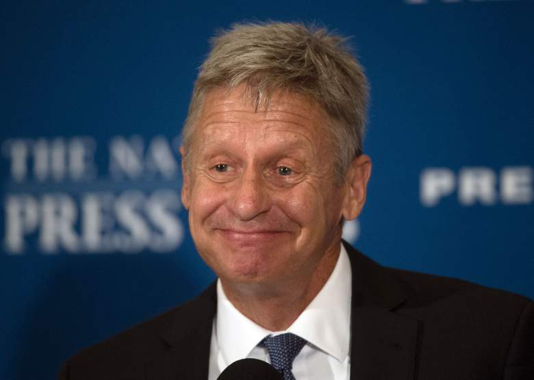 Gary Johnson marijuana business, Gary Johnson smoked marijuana, Gary Johnson weed