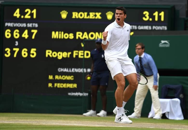 Milos Raonic, Wimbledon