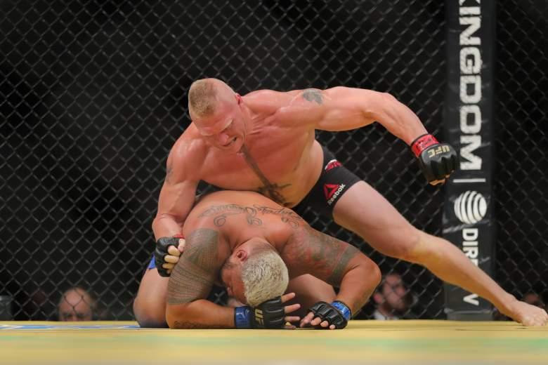 Brock Lesnar Mark Hunt UFC 200