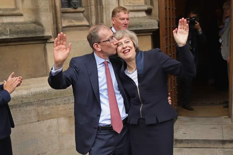 Theresa May, Theresa May family, Philip John May