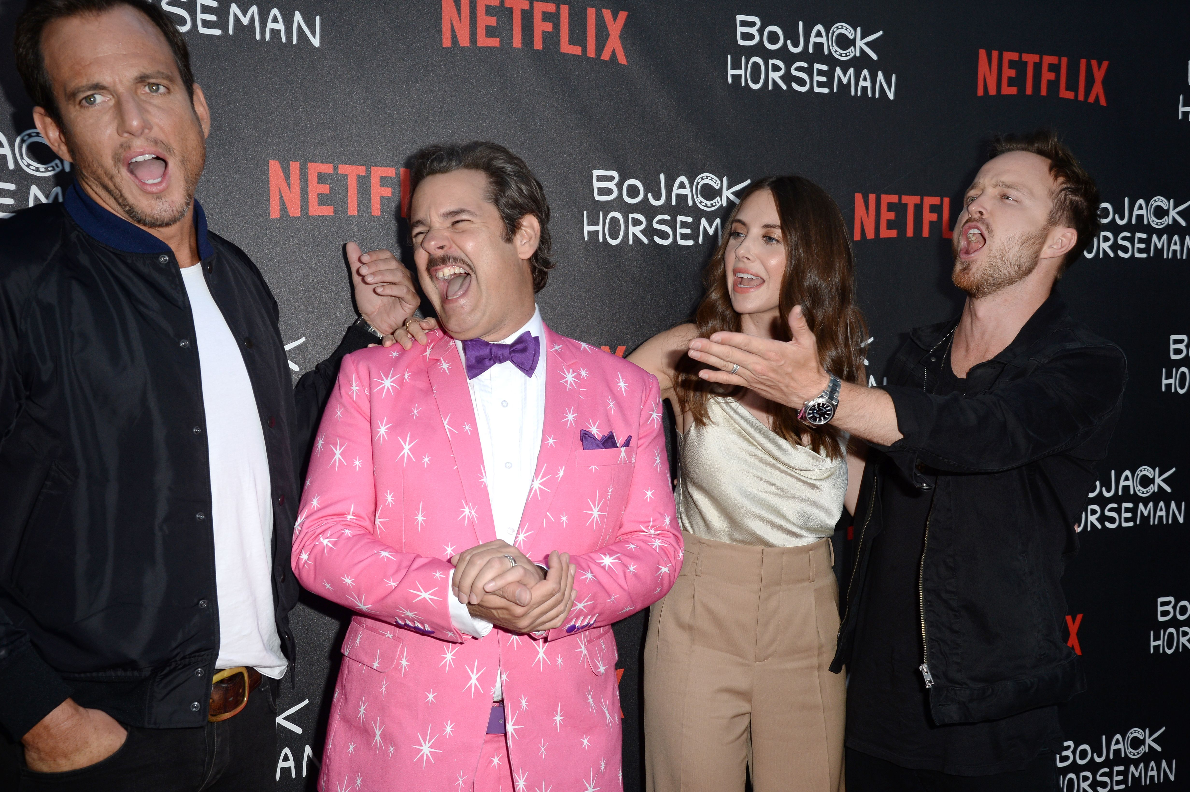 BoJack Horseman, Netflix, Will Arnett, Paul F. Tompkins, Alison Brie, Aaron Paul