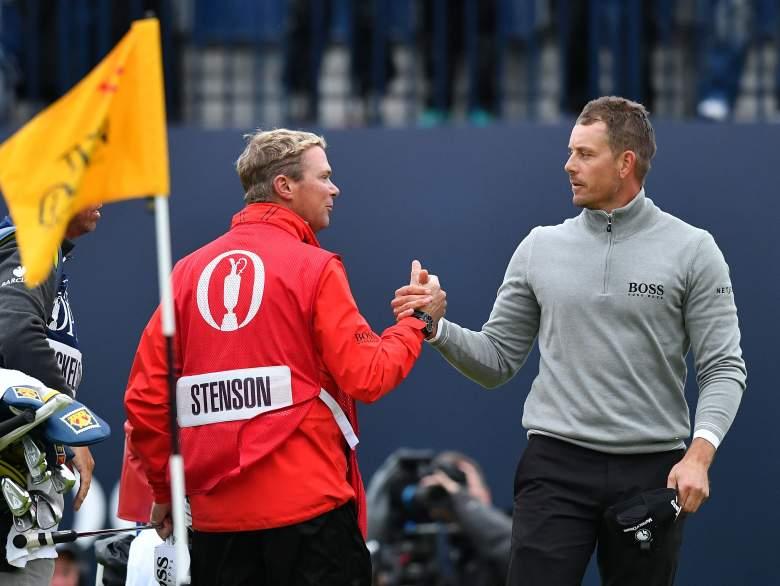 Henrik Stenson The Open Championship