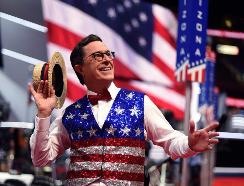 Stephen Colbert, RNC coverage, RNC media