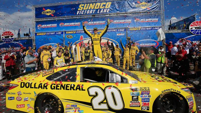 nascar new hampshire 301 2016 race winner results who won highlights