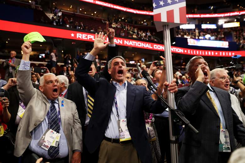 #RNCinCLE, #NeverTrump, roll call vote