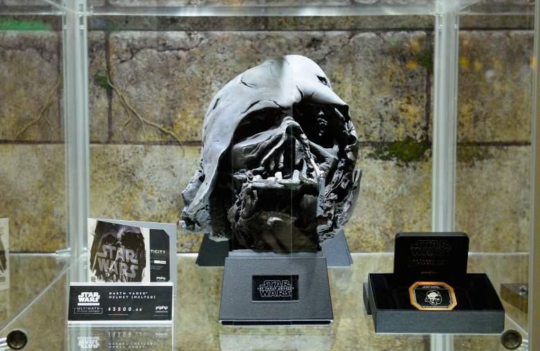 Darth Vader, Darth Vader helmet, Darth Vader SDCC