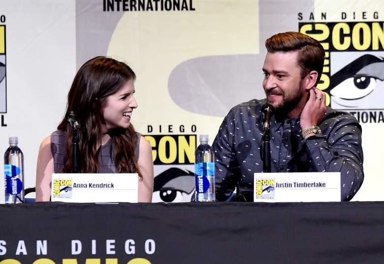 Anna Kendrick, Trolls cast, SDCC, SDCC Day 1, Justin Timberlake