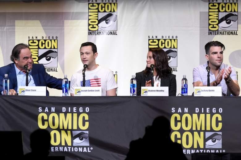 Oliver Stone, Snowden cast, Snowden trailer, Joseph Gordon-Levitt