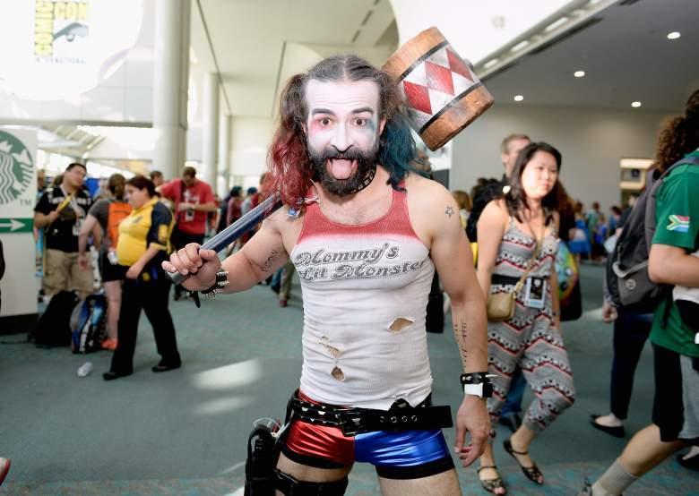 Harley Quinn cosplay, Harley Quinn guy, SDCC Cosplay gallert