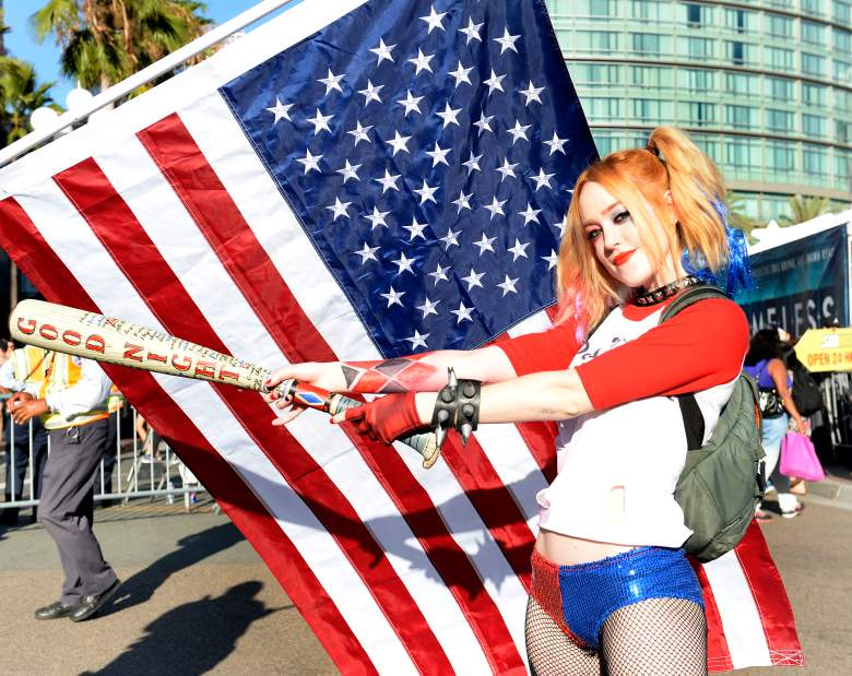 Harley Quinn, Harley Quinn cosplay, SDCC cosplay, sexy cosplay