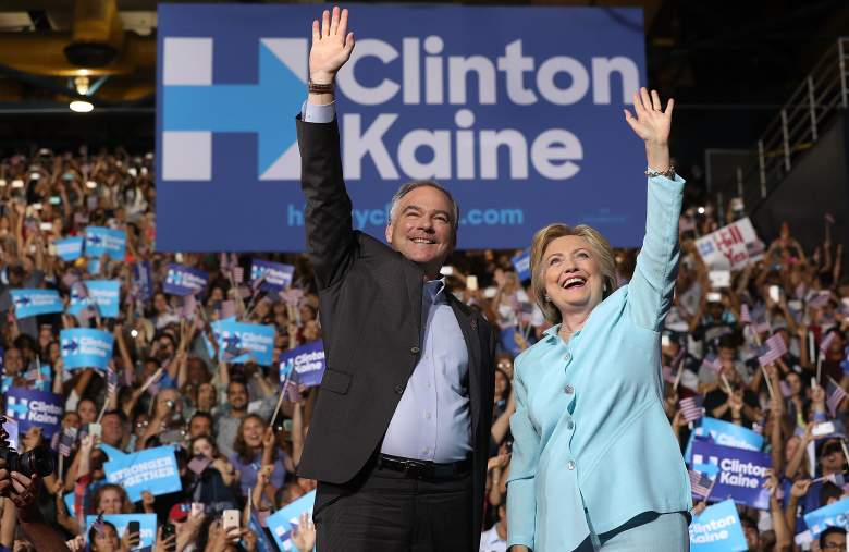 Hillary Clinton and Tim Kaine, Tim Kaine religion, Tim Kaine faith