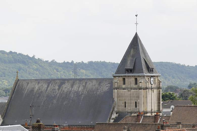 French priest murdered, Saint Etienne du Rouvray