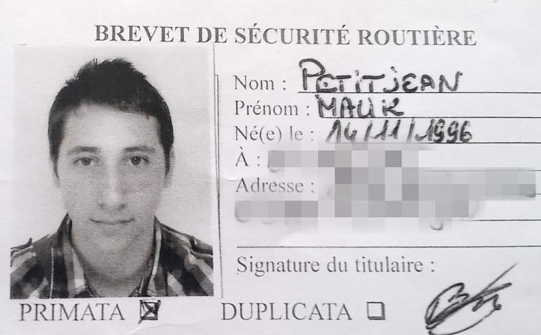 """A picture obtained on July 27, 2016 shows Abdel Malik Petitjean, 19, one the two men who stormed into a church on July 26 in the northern French town of Saint-Etienne-du-Rouvray during morning mass and cut the throat of a 86-year-old priest at the altar. Two jihadists who attacked a French church and brutally murdered a priest had pledged allegiance to the Islamic State group, a video showed on July 27. The attack in the Normandy town of Saint-Etienne-du-Rouvray came as France was still coming to terms with the Bastille Day killings in Nice claimed by IS.  / AFP / STRINGER / RESTRICTED TO EDITORIAL USE - MANDATORY CREDIT """"AFP PHOTO"""" - NO MARKETING NO ADVERTISING CAMPAIGNS - DISTRIBUTED AS A SERVICE TO CLIENTS         (Photo credit should read STRINGER/AFP/Getty Images)"""