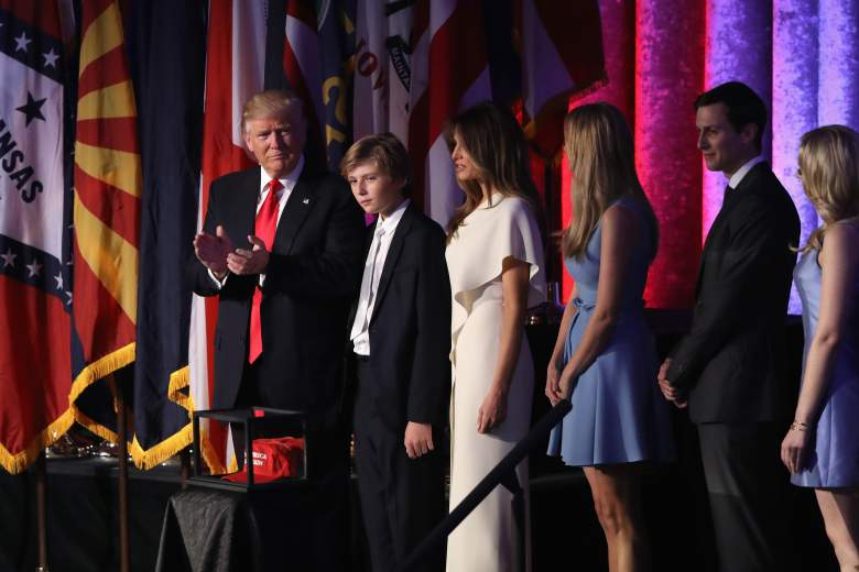 barron trump, donald trump son, melania, who is, how old, youngest